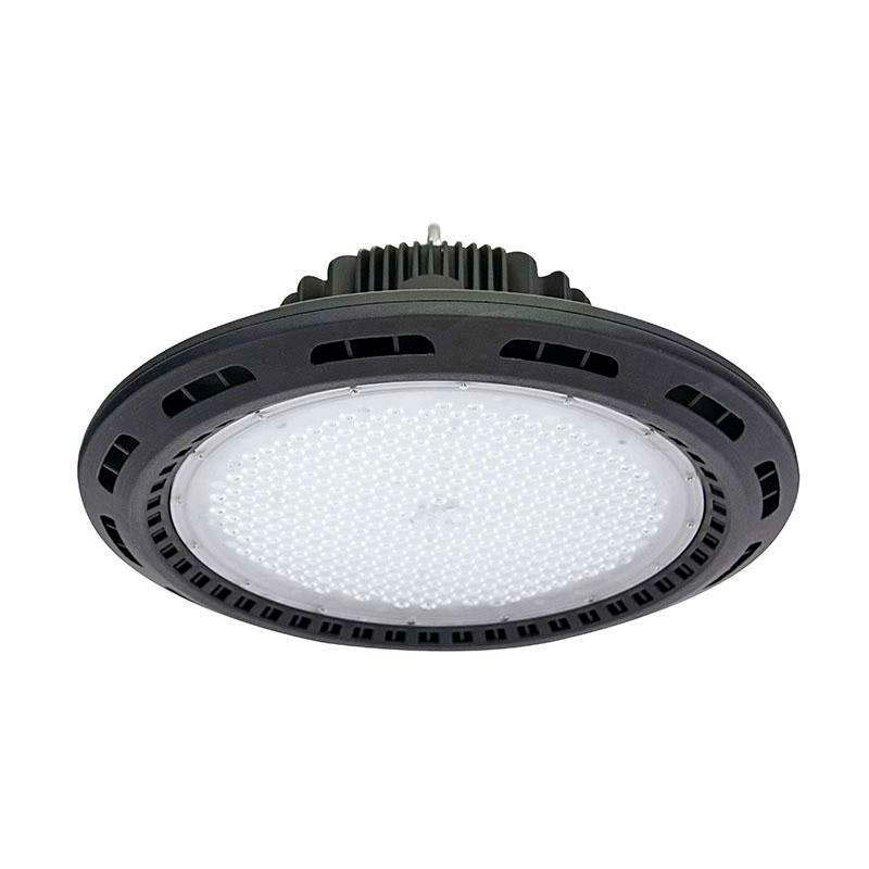 Campana industrial UFO 160W CREE led + MeanWell driver, Blanco frío